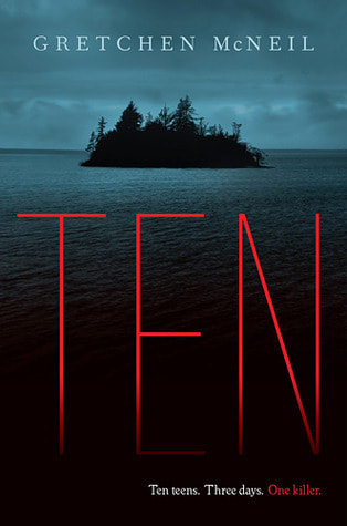 Book cover for Ten by Gretchen Rubin showing water and a small island